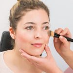 Natürlich schön Tages Make-up